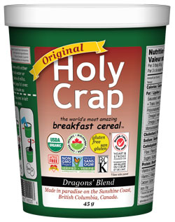 Holy Crap Original Single Serve cereal cup