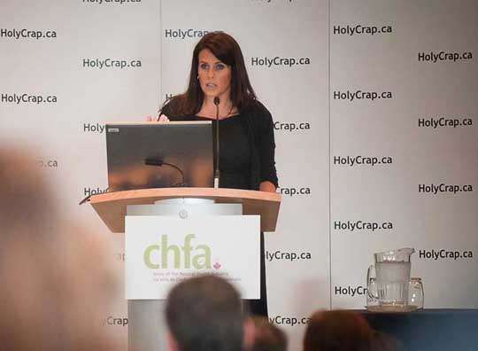 Lisa Oz at CHFA West in Vancouver, BC