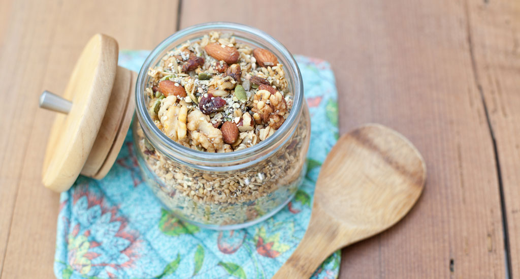 Kathy Smart's ultimate granola recipe