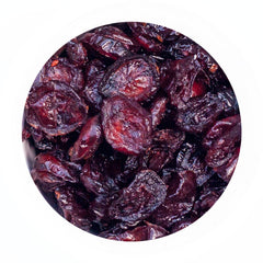 Organic, non-GMO dried cranberries