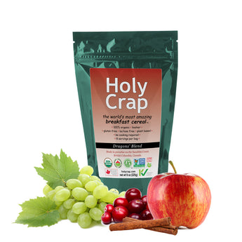 Holy Crap breakfast cereal 8 oz (225g)