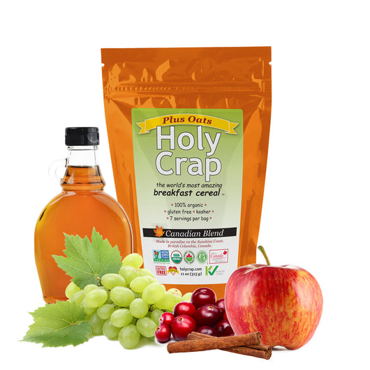 Holy Crap Plus Oats breakfast cereal 8 oz (225g)