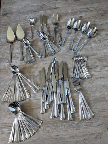 Gorham 'Monet' Set of Stainless Silverware