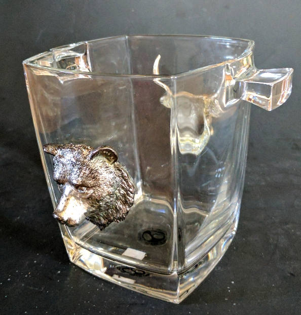 Arthur Court Safari Ice Bucket