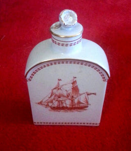 Spode 'Trade Winds' Flask