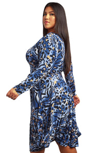 Wild Side Plus Size Cheetah Dress