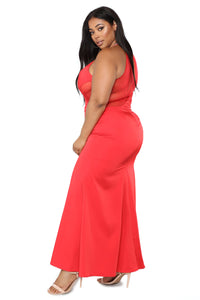 The Eve Dress (Red, Black)