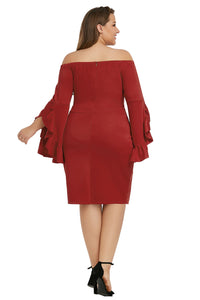 Red Cha Cha Body-Con Dress
