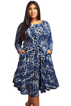 Load image into Gallery viewer, Wild Side Plus Size Cheetah Dress