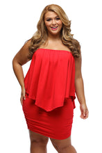 Load image into Gallery viewer, The Boss Lady Layered Mini Poncho Dress (Colors)