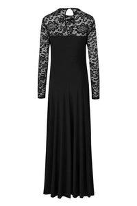 Black Night Lace Dress