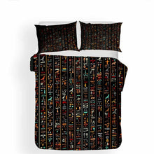 Load image into Gallery viewer, Egyptian Culture Bedding Set