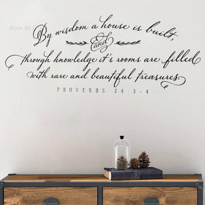 Scripture Decal