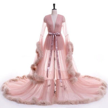 Load image into Gallery viewer, Tulle Evening Robe (Multi-Colors)