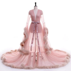 Tulle Evening Robe (Multi-Colors)
