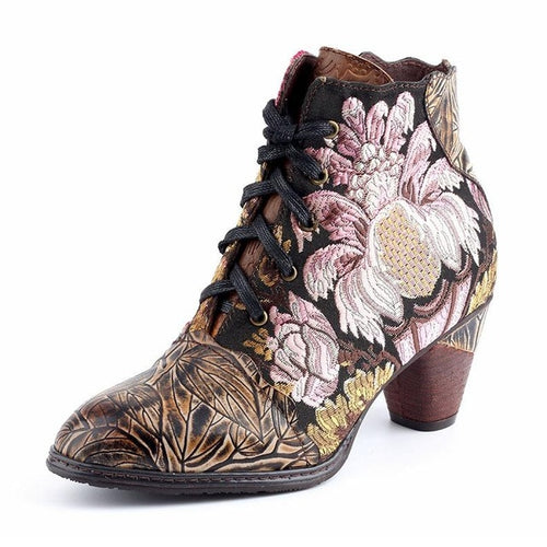 Johnature Women Boots