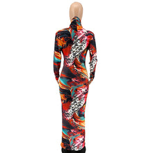 Load image into Gallery viewer, Graffiti Print Maxi Dress