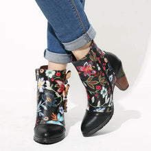 Load image into Gallery viewer, Johnature Ankle Bootie