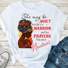 "Load image into Gallery viewer, Blaq Magic Tee's ""She may Be"""
