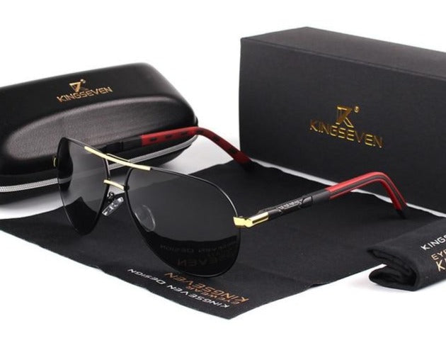 KINGSEVEN Polarized Aviator Sunglasses