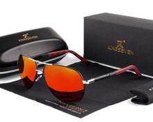 Load image into Gallery viewer, KINGSEVEN Polarized Aviator Sunglasses