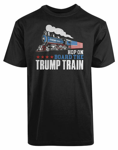 Maga Train T-Shirt 100% Cotton