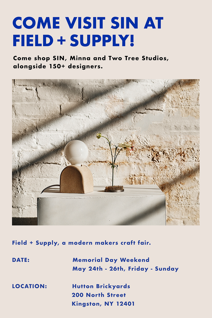 Field + Supply, Memorial Day Weekend Event!