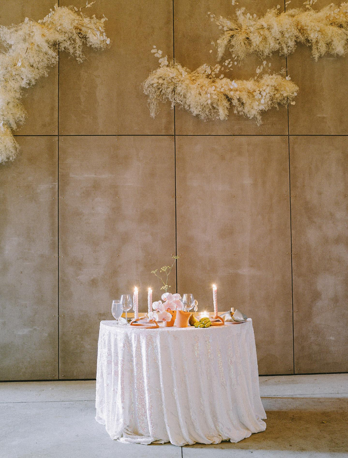 Creating a wedding tablescape with SIN!