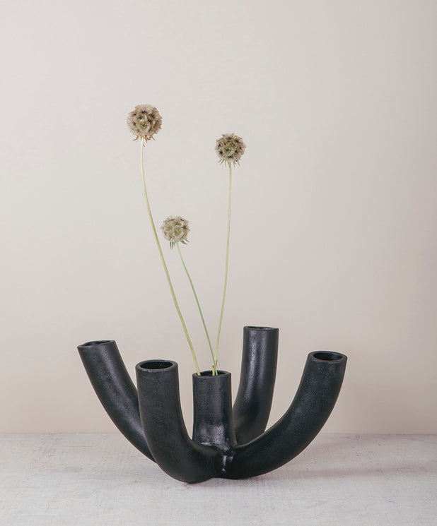 Venule 5-Way Vessel, Black - SIN  |  Home goods & ceramics