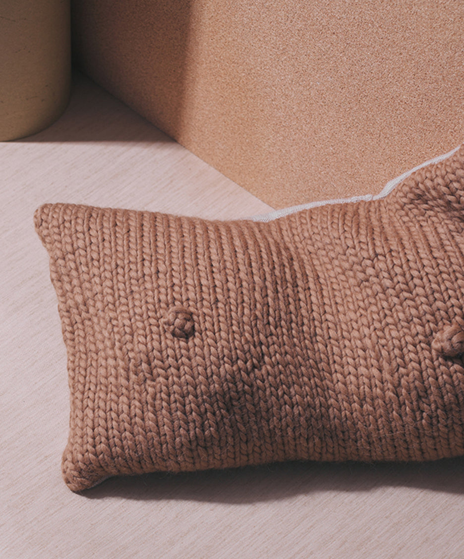Almond, A-Cup Pillow - SIN  |  Home goods & ceramics