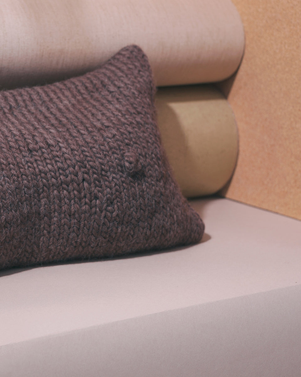 Mocha, A-Cup Pillow - SIN  |  Home goods & ceramics