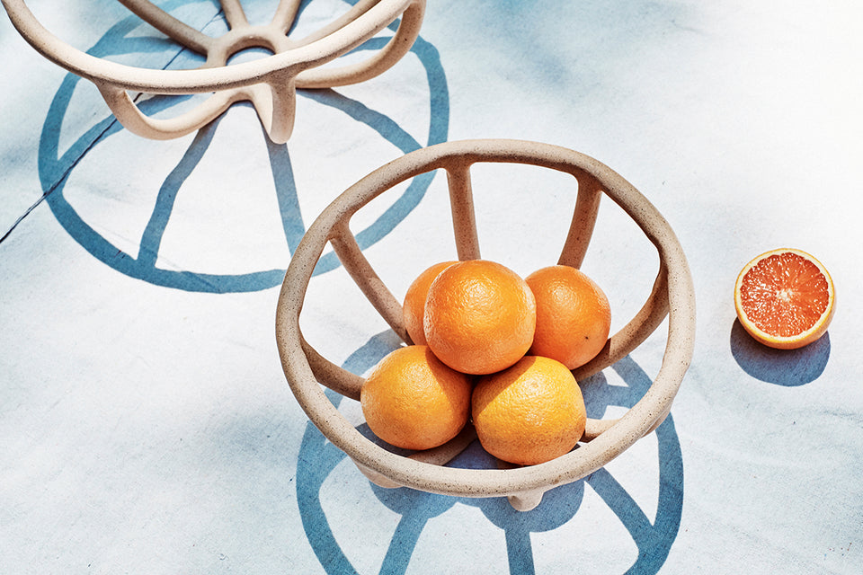 Prong Fruit Bowl, Speckled - SIN  |  Home goods & ceramics