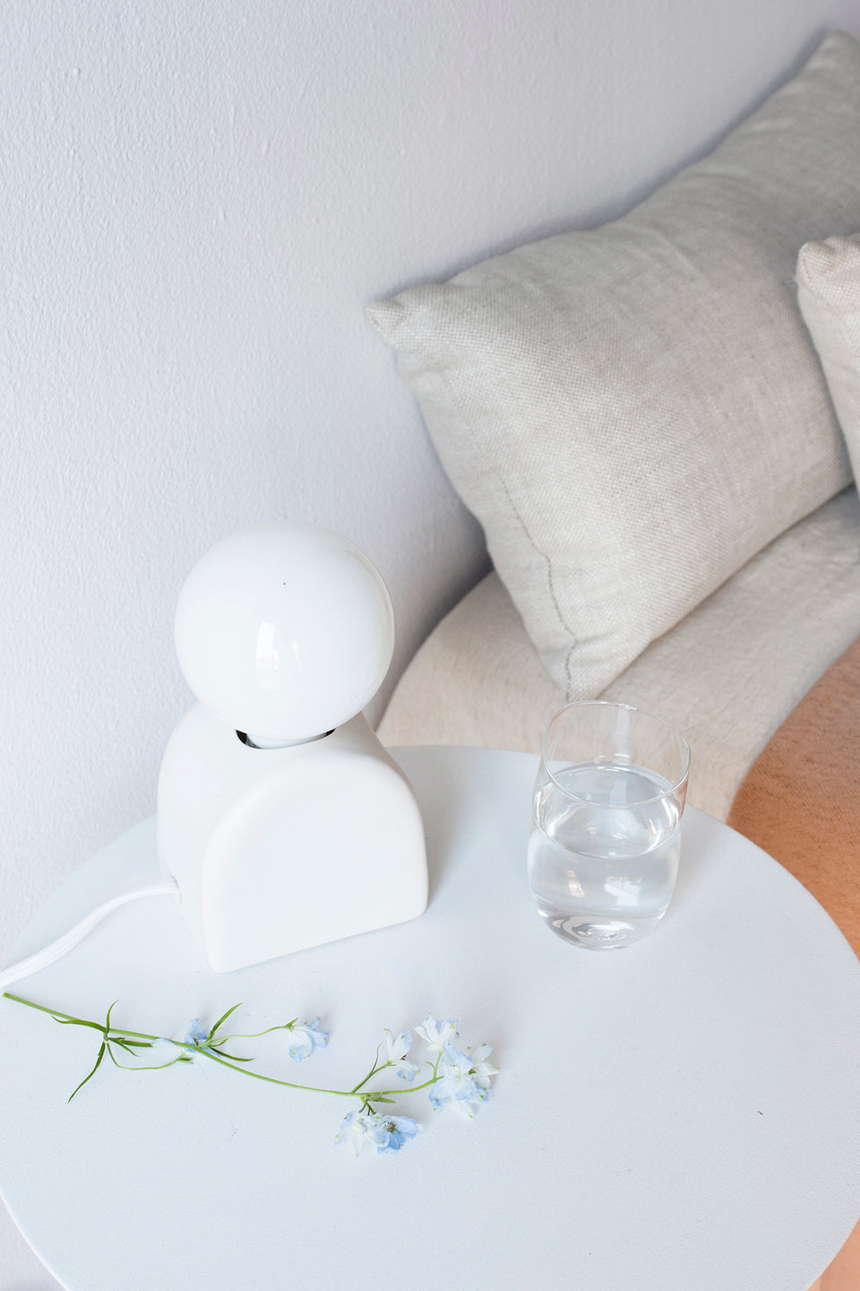 Mima Table Lamp, Snow - SIN  |  Home goods & ceramics