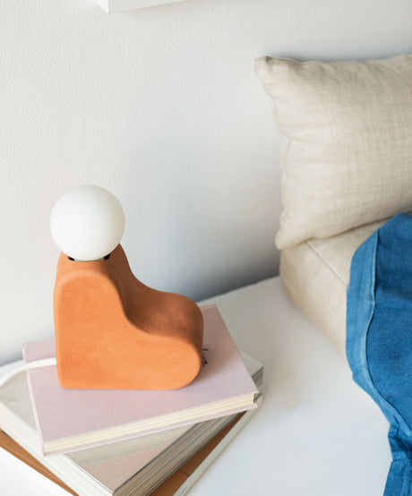 Joshua Table Lamp, Terracotta - SIN  |  Home goods & ceramics
