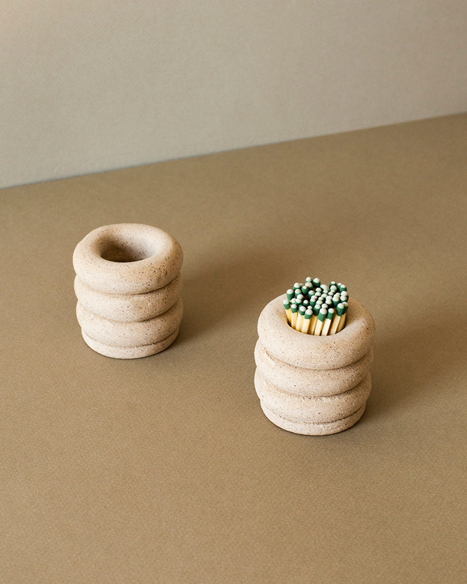 Fiery, Strike Anywhere Matchstick holder - SIN  |  Home goods & ceramics