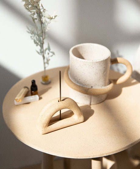 Morning Ritual - Holiday Gift Bundle (Mug + Incense) - SIN  |  Home goods & ceramics
