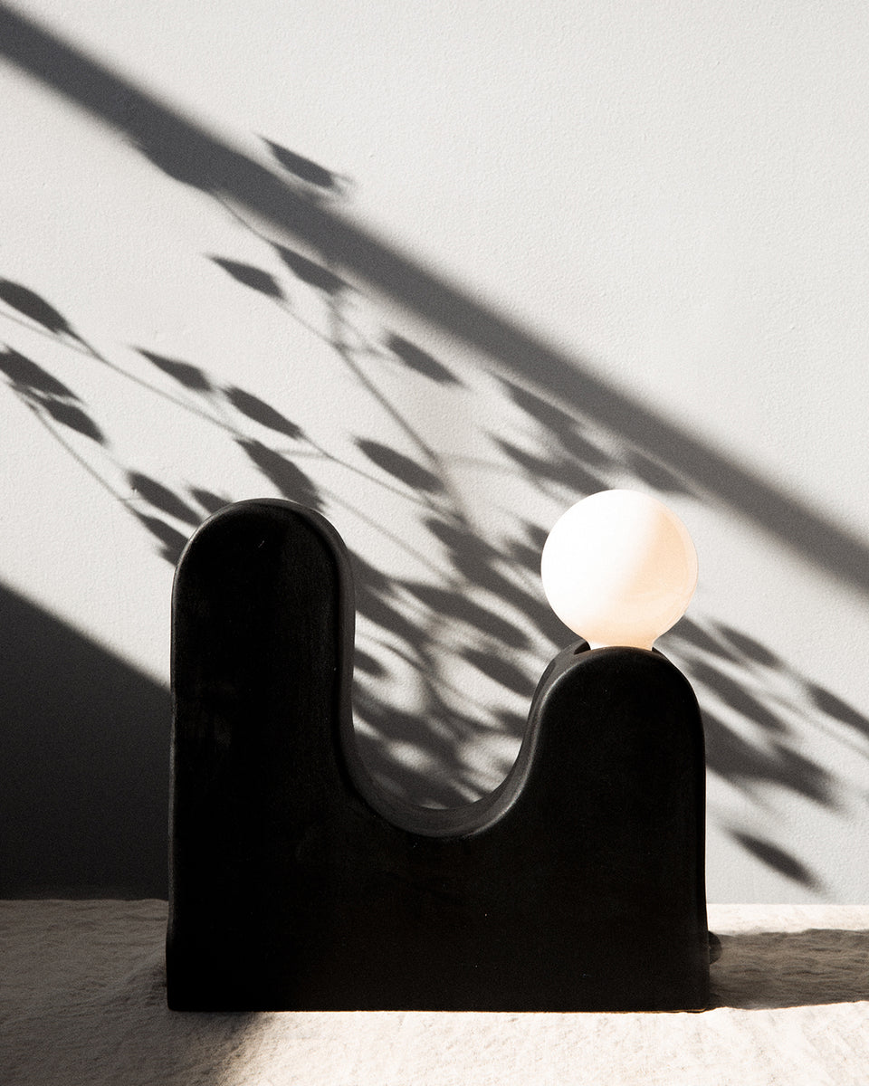 Rolling Hills Table Lamp, Black - SIN  |  Home goods & ceramics
