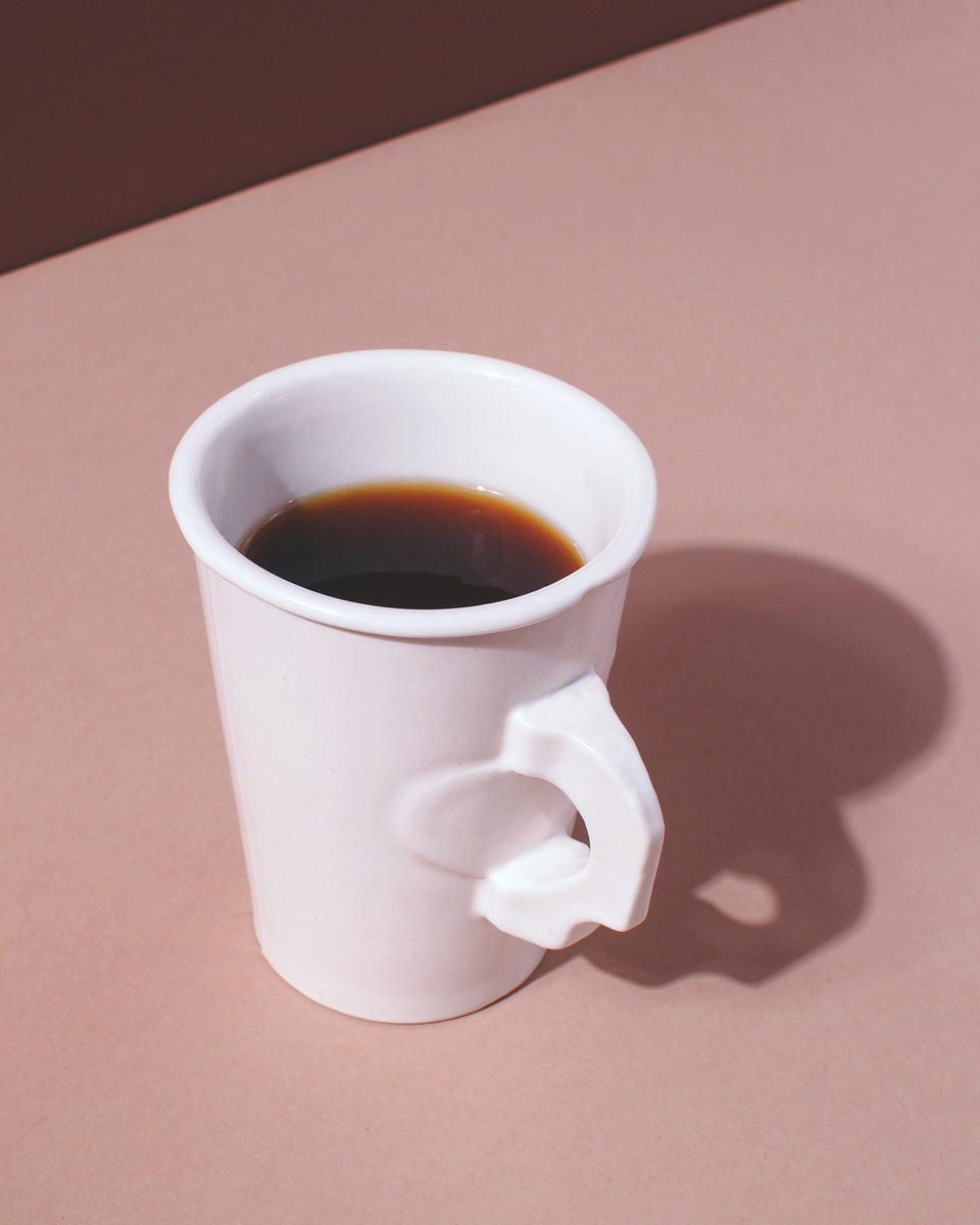 Porcelain Paper Mug - SIN  |  Home goods & ceramics