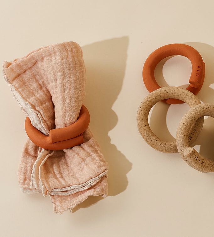 Tucked Napkin Rings: SIN X Food52 Exclusive