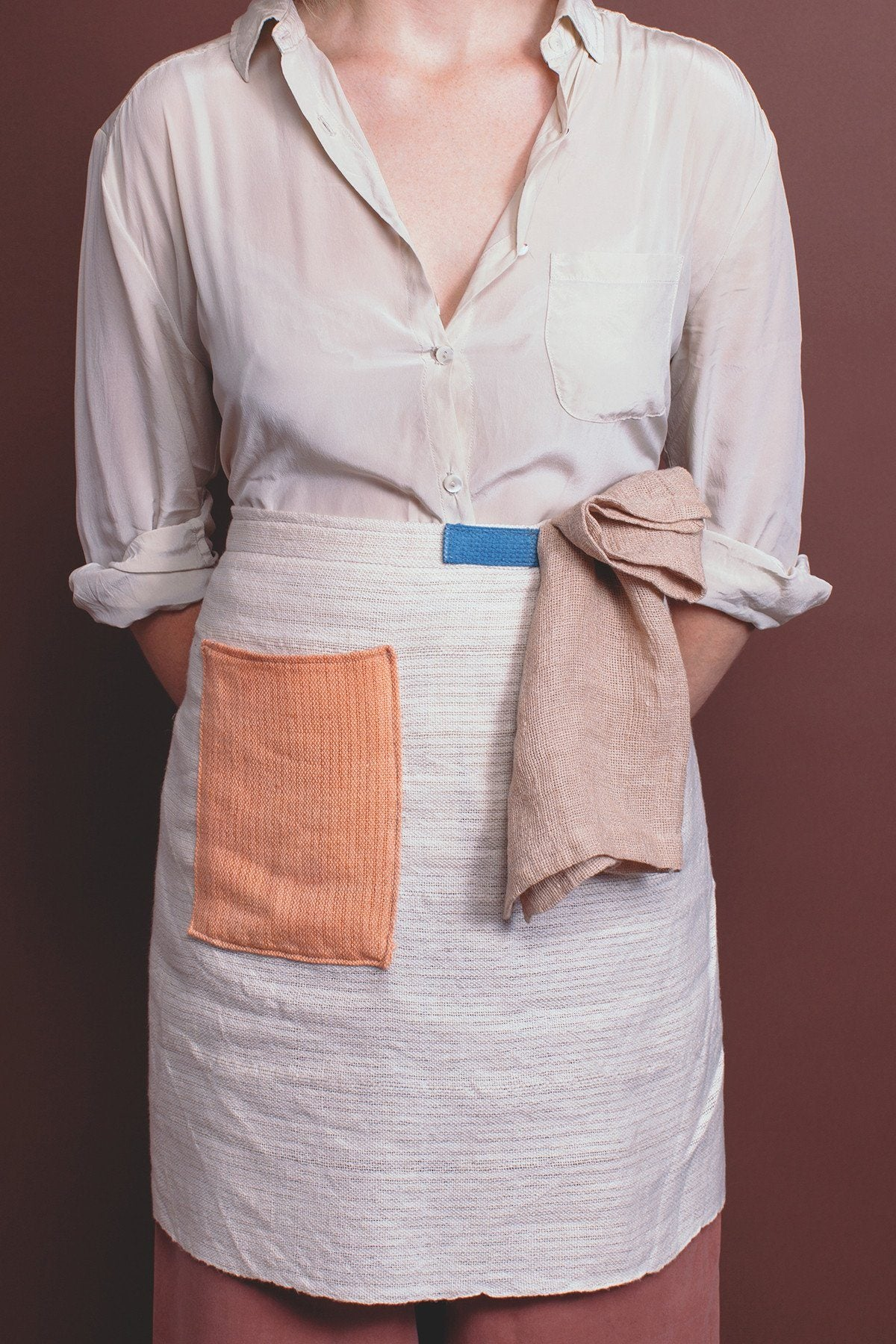 Apron - Color Block, Half Apron