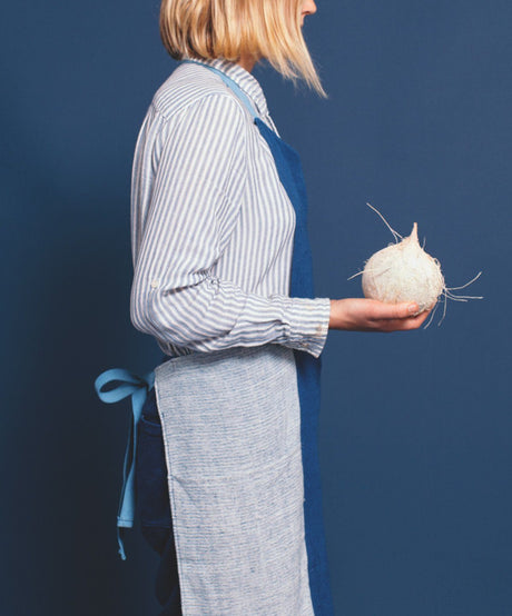Stripes Apron, Indigo - SIN  |  Home goods & ceramics