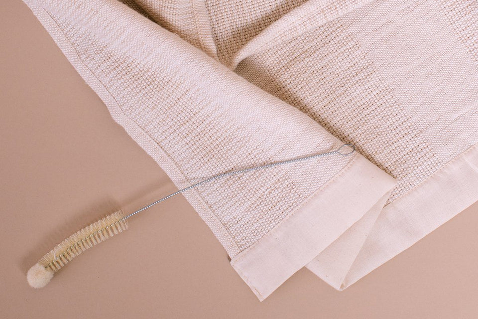 Home Textiles - Stripes Towel, Oatmeal