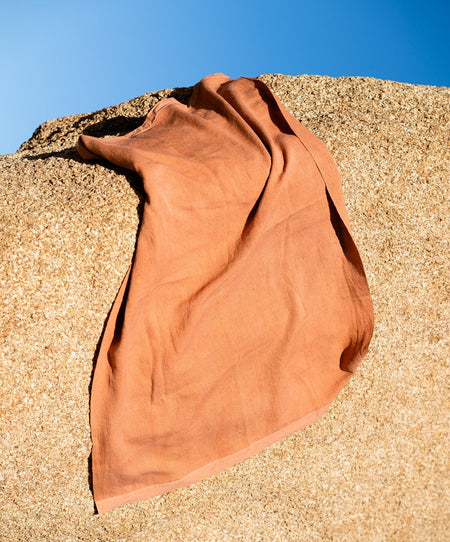 Stripes Towel, Terracotta - SIN  |  Home goods & ceramics