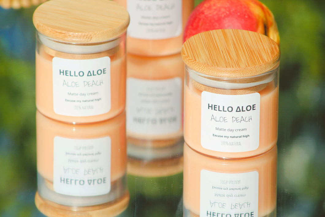 Aloe Peach - Day Cream