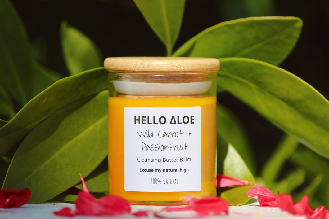 Wild Carrot + Passion fruit - Balm Cleanser