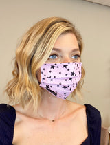 Star Print Cotton Mask Accessories Avec Les Filles