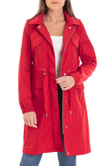 Water-Resistant Anorak Outerwear Avec Les Filles XS Red
