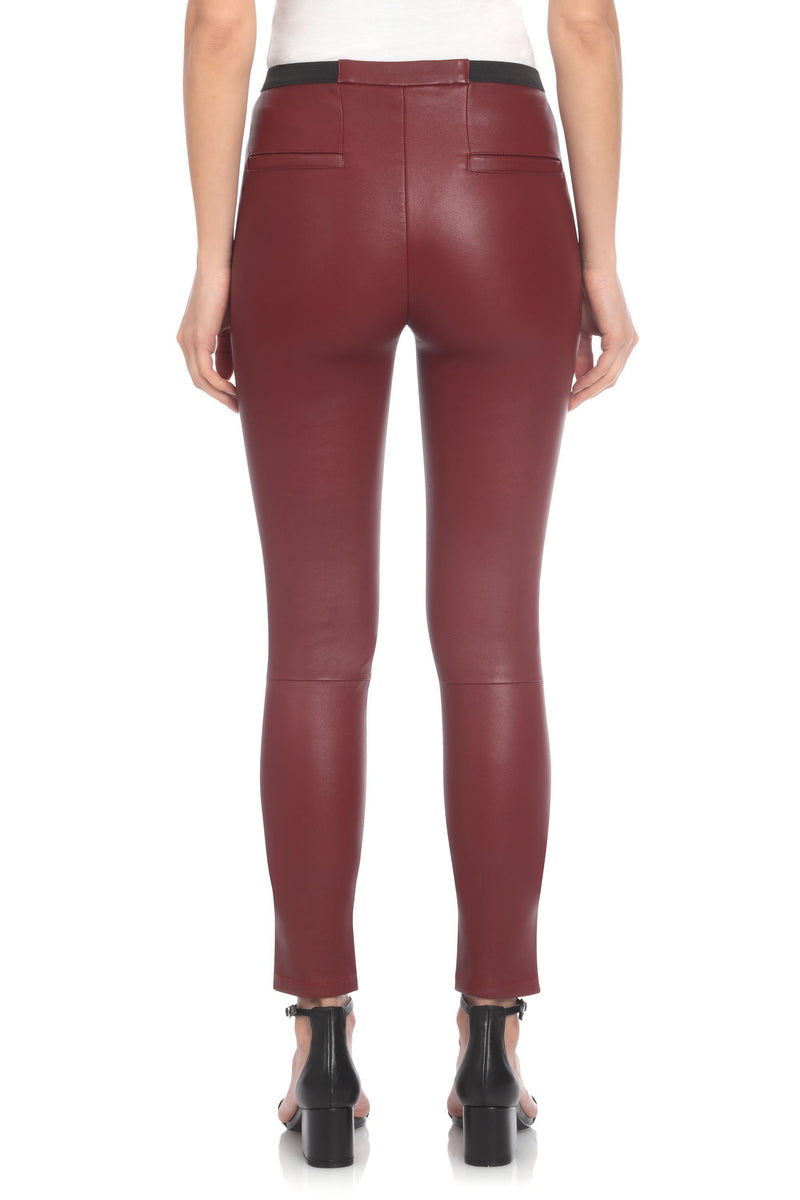 Avec Les Filles x BAGATELLE.NYC BAGATELLE.CITY Stretch Lamb Leather Legging