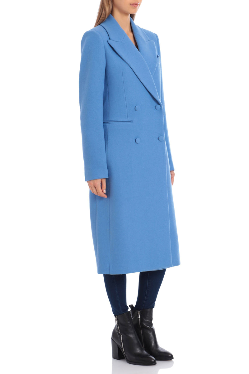 Tailored Wool Double-Breasted Coat Outerwear Avec Les Filles