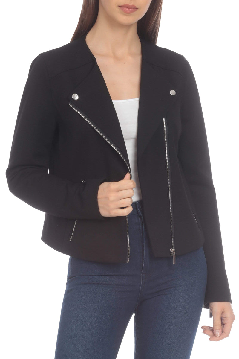 Ponte Biker Jacket Outerwear Bagatelle S Black